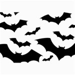 Deathrock Bats Canvas 12  x 18