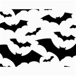 Deathrock Bats Canvas 36  x 48