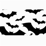 Deathrock Bats Canvas 40  x 72