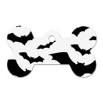 Deathrock Bats Dog Tag Bone (Two Sides)