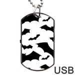 Deathrock Bats Dog Tag USB Flash (Two Sides)