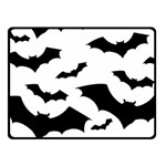 Deathrock Bats Double Sided Fleece Blanket (Small)