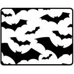 Deathrock Bats Double Sided Fleece Blanket (Medium)