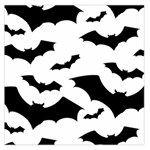 Deathrock Bats Large Satin Scarf (Square)