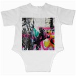 Graffiti Grunge Infant Creeper from ArtsNow.com Back