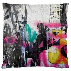 Graffiti Grunge Standard Flano Cushion Case (One Side) from ArtsNow.com Front