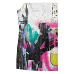 Graffiti Grunge Women s Button Up Vest from ArtsNow.com Front Right