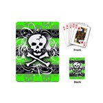 Deathrock Skull Playing Cards Single Design (Mini)