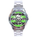 Deathrock Skull Stainless Steel Analogue Watch