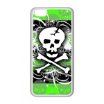 Deathrock Skull iPhone 5C Seamless Case (White)