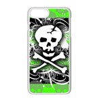 Deathrock Skull iPhone 7 Plus Seamless Case (White)