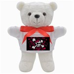 Girly Skull & Crossbones Teddy Bear
