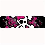 Girly Skull & Crossbones Large Bar Mat