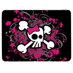 Girly Skull & Crossbones Samsung Galaxy Tab 7  P1000 Flip Case