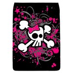 Girly Skull & Crossbones Removable Flap Cover (L)