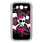 Girly Skull & Crossbones Samsung Galaxy Grand DUOS I9082 Case (White)