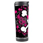 Girly Skull & Crossbones Travel Tumbler