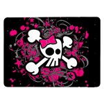 Girly Skull & Crossbones Samsung Galaxy Tab Pro 12.2  Flip Case