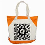 Gothic Punk Skull Accent Tote Bag
