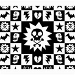 Gothic Punk Skull Canvas 20  x 24