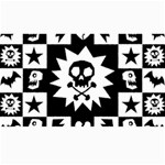 Gothic Punk Skull Canvas 40  x 72