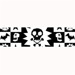 Gothic Punk Skull Large Bar Mat from ArtsNow.com 32 x8.5  Bar Mat