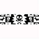 Gothic Punk Skull Large Bar Mat
