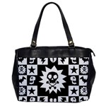 Gothic Punk Skull Oversize Office Handbag