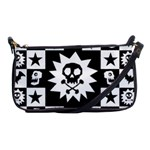 Gothic Punk Skull Shoulder Clutch Bag