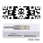 Gothic Punk Skull Memory Card Reader (Stick)
