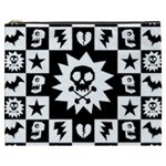 Gothic Punk Skull Cosmetic Bag (XXXL)