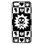 Gothic Punk Skull iPhone 5 Seamless Case (Black)