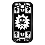Gothic Punk Skull Samsung Galaxy S3 Back Case (Black)