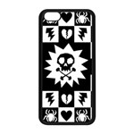 Gothic Punk Skull iPhone 5C Seamless Case (Black)