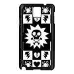 Gothic Punk Skull Samsung Galaxy Note 3 N9005 Case (Black)