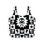 Gothic Punk Skull Full Print Recycle Bag (S)