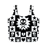 Gothic Punk Skull Full Print Recycle Bag (M)