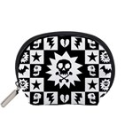 Gothic Punk Skull Accessory Pouch (Small)