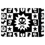 Gothic Punk Skull Apple iPad Air Flip Case