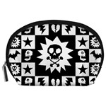 Gothic Punk Skull Accessory Pouch (Large)