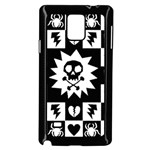 Gothic Punk Skull Samsung Galaxy Note 4 Case (Black)