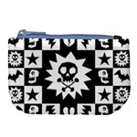 Gothic Punk Skull Large Coin Purse