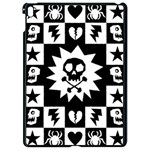 Gothic Punk Skull Apple iPad Pro 9.7   Black Seamless Case