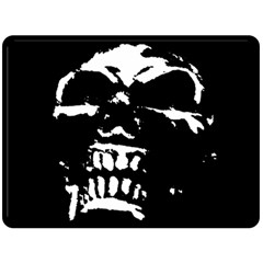 Morbid Skull Double Sided Fleece Blanket (Large) from ArtsNow.com 80 x60  Blanket Front