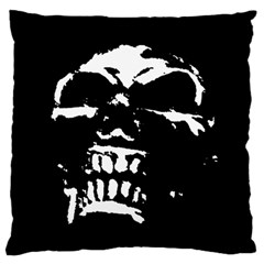 Morbid Skull Standard Flano Cushion Case (One Side) from ArtsNow.com Front