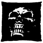 Morbid Skull Large Flano Cushion Case (Two Sides)