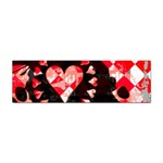 Love Heart Splatter Sticker (Bumper)
