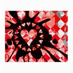 Love Heart Splatter Small Glasses Cloth (2 Sides)