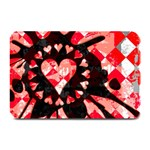 Love Heart Splatter Plate Mat