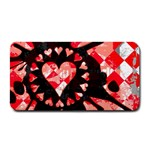 Love Heart Splatter Medium Bar Mat